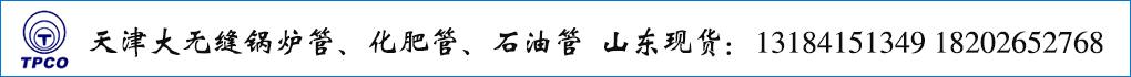 天津大无缝锅炉管、化肥管、石油管  山东现货销售:13184151349 18202652768